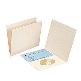 Smead Pocket Folder, Reinforced Straight Cut Tab, Letter Size, Manila, 50/Box (10315)