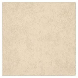 TrafficMASTER Laguna Bay Cream 12 in. x 12 in. Ceramic Floor and Wall Tile (15 sq. ft. / case) UF6Z