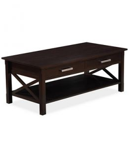 Simpli Home Rockville Coffee Table, Direct Ships for just $9.95