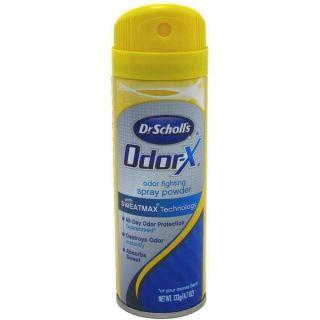 Dr. Scholls Odor X Odor Fighting Spray Powder 4.70 oz   18605464