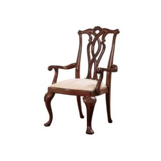 American Drew 792 655 Cherry Grove 45th Back Pierced Arm Chair in Classic Antique Cherry