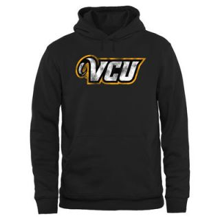VCU Rams Big & Tall Classic Primary Pullover Hoodie   Black