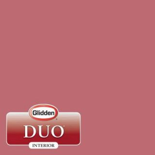 Glidden DUO 1 gal. #HDGR33D Candystripe Red Flat Latex Interior Paint with Primer HDGR33D 01F