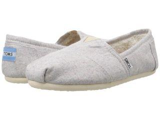 TOMS Seasonal Classics Light Grey Woolen