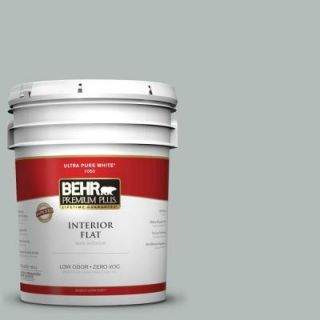 BEHR Premium Plus Home Decorators Collection 5 gal. #HDC NT 25 Dew Zero VOC Flat Interior Paint 140005