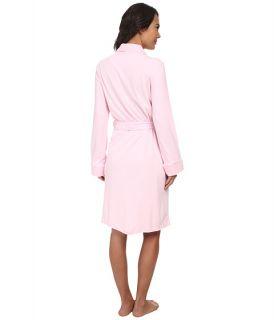 LAUREN Ralph Lauren Essentials Quilted Collar and Cuff Robe Biscayne Rose