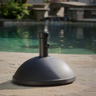 Christopher Knight Home 55 pound Dome Black Concrete Umbrella Base