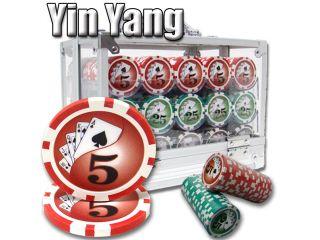 600 Ct   Pre Packaged   Yin Yang 13.5 G   Acrylic