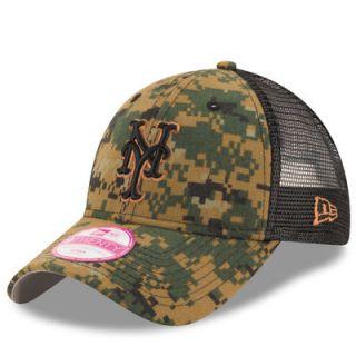 New York Mets New Era Womens 2016 Memorial Day 9TWENTY Adjustable Hat  Digital Camo ab9fdd82d