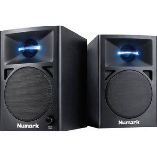 Numark N Wave 360 Powered Desktop DJ Monitors (Pair) N WAVE 360
