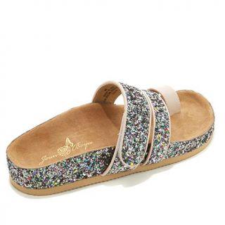 "Joan Boyce ""Mary"" Glitter Comfort Sandal   7981667"
