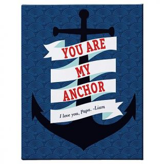 """Personal Creations Personalized You Are The Anchor Canvas   My   16"""" x 20""""   7830894"""