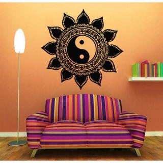 Yin Yang Mandala Sticker Vinyl Wall Art   17216485