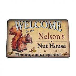 "Personal Creations Personalized Nut House Doormat   24"" x 36""   7540701"