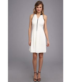 Marc New York by Andrew Marc Two Tone Halter Dress MD4K4236
